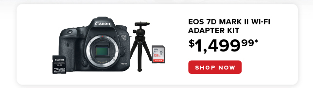 EOS 7D Mark II starting as low as $1499.99
